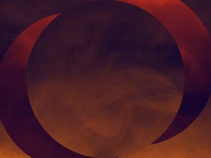 HAZER ORANGE SUN