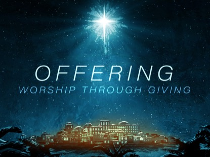 HOLY NIGHT OFFERING