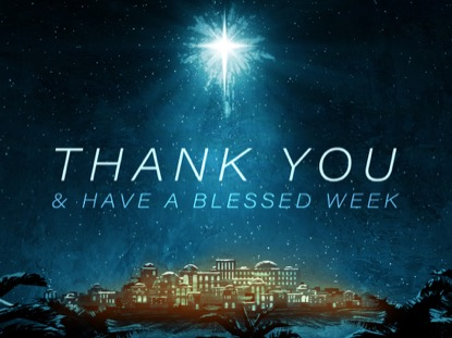 HOLY NIGHT THANK YOU