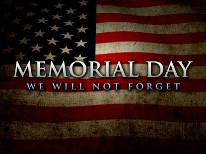 MEMORIAL DAY FLAG GRUNGE