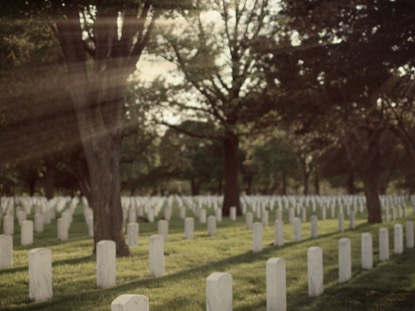 MILITARY CEMETERY, FOREST RAYS