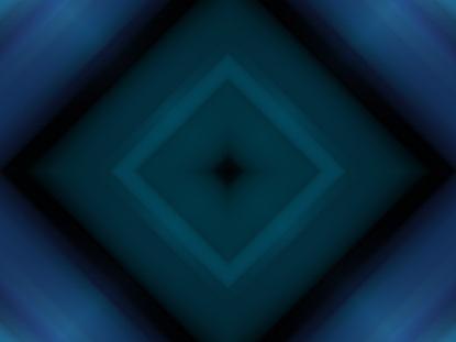 MIRRORED BLUE DIAMONDS
