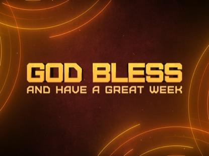 NEON LINES GOD BLESS