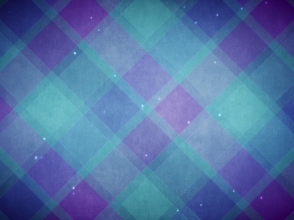 PLAID PATTERNS WINTER BLUE