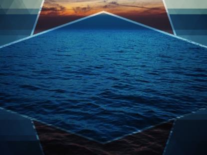 PRISM WAVES DARK SUNSET