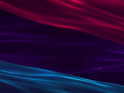 SILKEN RED PURPLE BLUE