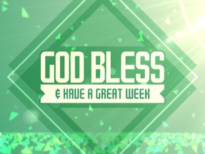 SPRING SHAPES GOD BLESS