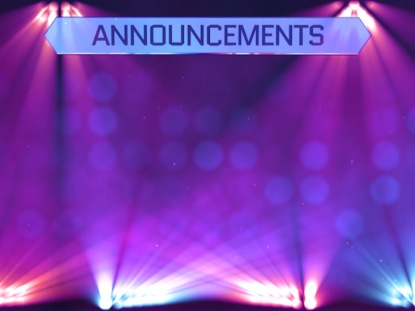 Stage Lights Announcements | Motion Worship | Motion ...