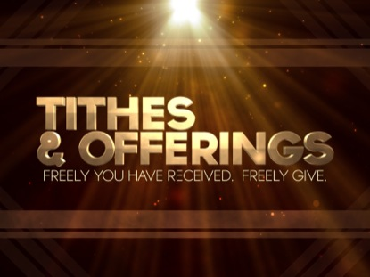 tithes offerings gold rays motion worship worshiphouse media