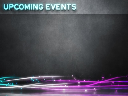 UPCOMING EVENTS WALL