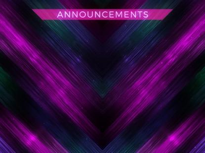 VIVID FIBERS ANNOUNCEMENTS