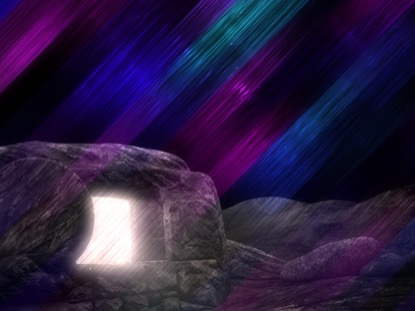 VIVID FIBERS EASTER TOMB DARK