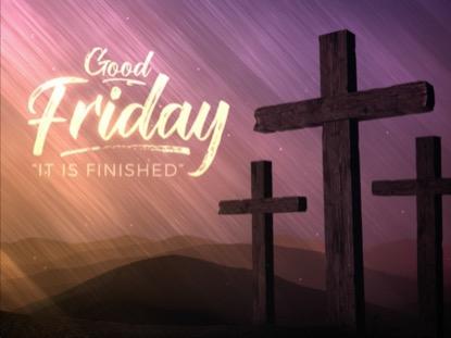 Vivid Fibers Good Friday Title | Motion Worship | Preaching Today Media