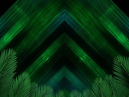 VIVID FIBERS PALM BRANCHES DARK
