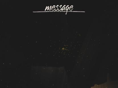 WINTER LIGHT MESSAGE