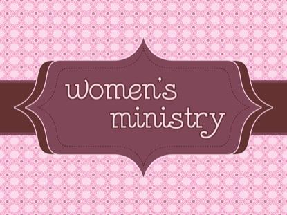 WOMEN'S MINISTRY DESIGN
