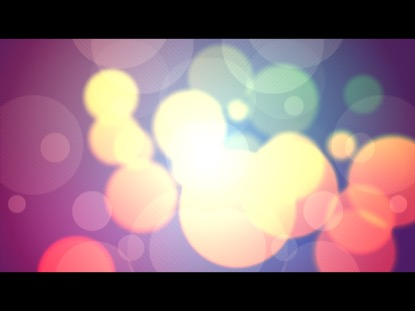 COLORFUL BOKEH 1