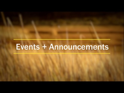 REEDS ANNOUNCEMENT