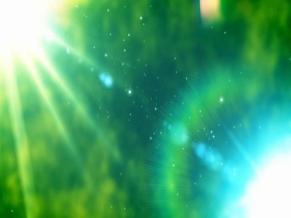 GREEN GLOWING FLARES