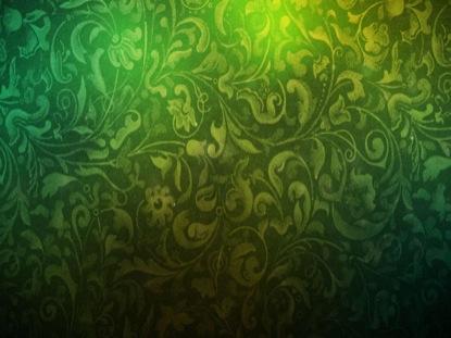 GREEN VINTAGE TEXTURE PARTICLES