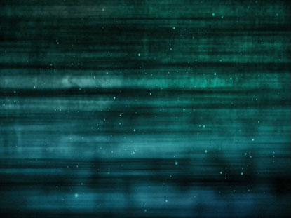 MUTED BLUE GREEN PARTICLE STREAKS
