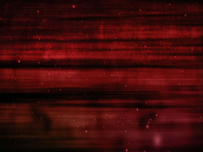 RED PARTICLE STREAKS