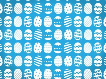 SPRINGSTER EGG LOOP BLUE