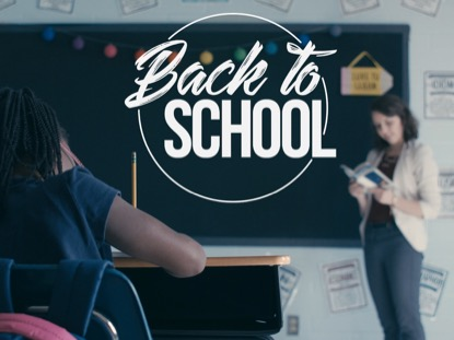 BACK TO SCHOOL: FRONT OF THE CLASS CINEMAGRAPH