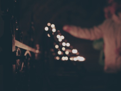 PRAYER CANDLES CINEMAGRAPH