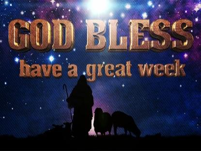 SHEPHERD GOD BLESS