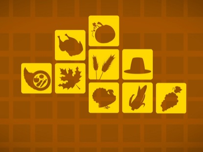 THANKSGIVING ICON BACKGROUND