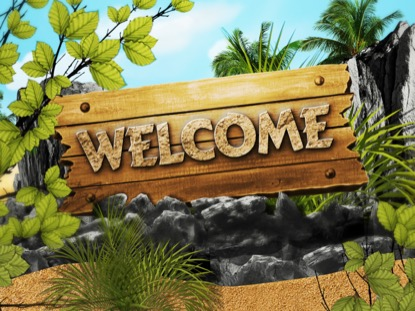 ADVENTURE ISLAND WELCOME MOTION