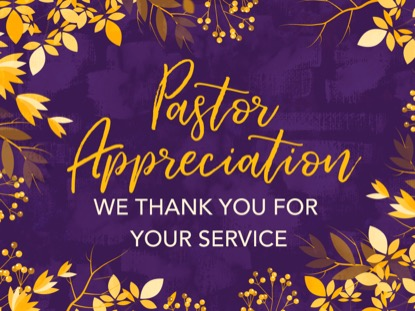 AUTUMN BREEZE PASTOR APPRECIATION MOTION
