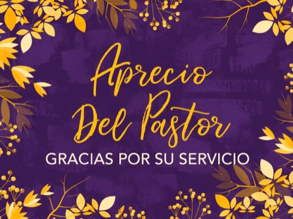 AUTUMN BREEZE PASTOR APPRECIATION MOTION SPANISH