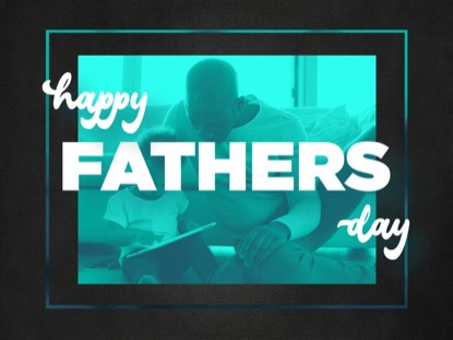 AWESOME DADS FATHERS DAY MOTION