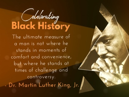 BLACK HISTORY MONTH QUOTES MOTION 1