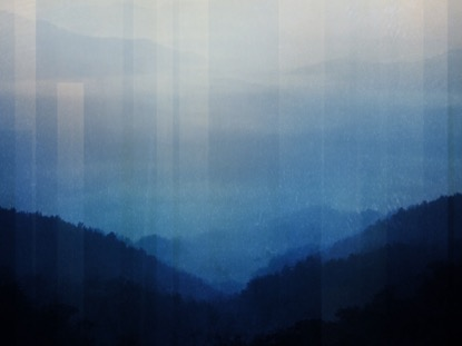 CALMING NATURE BLUE 3 MOTION