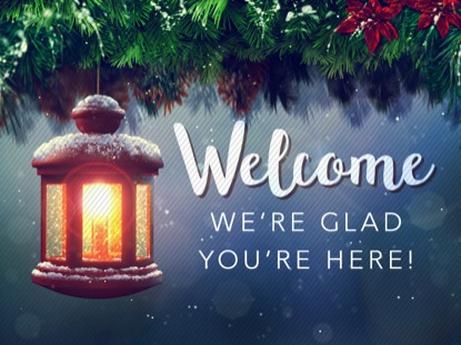 CHRISTMAS CAROL WELCOME MOTION