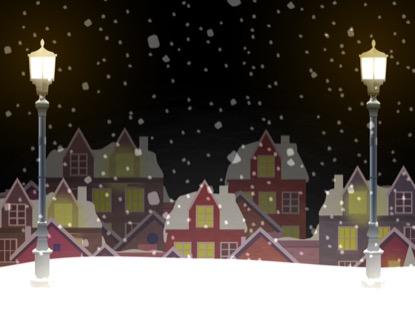CHRISTMAS VILLAGE MOTION 6