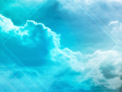 COLORED CLOUDS TEAL