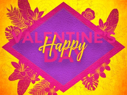 COLORFUL VALENTINE HOLIDAY MOTION