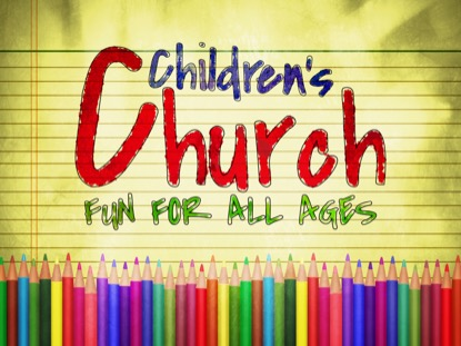 COLOR PENCILS CHILDRENS CHURCH MOTION