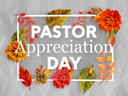 COLORS OF FALL PASTOR APPRECIATION MOTION