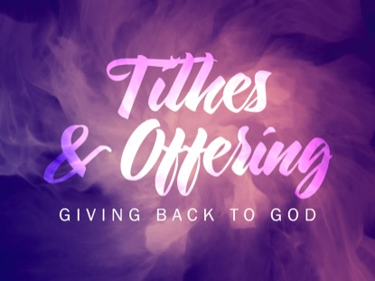 CONSECRATED SPIRIT TITHING MOTION