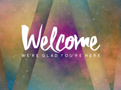 COSMIC DECO WELCOME MOTION