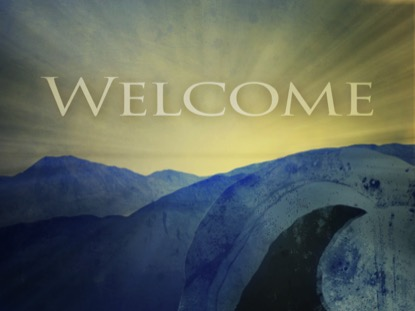 EASTER OPEN TOMB WELCOME
