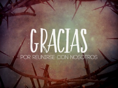 EASTER THORNS CLOSING MOTION - SPANISH