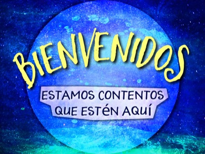 FUN GALAXY WELCOME MOTION SPANISH
