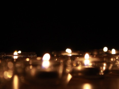 GLASS CANDLES 1