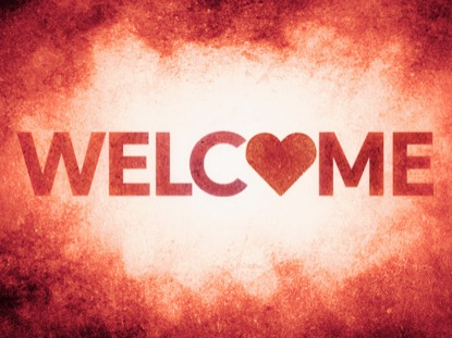 GOD IS LOVE WELCOME MOTION